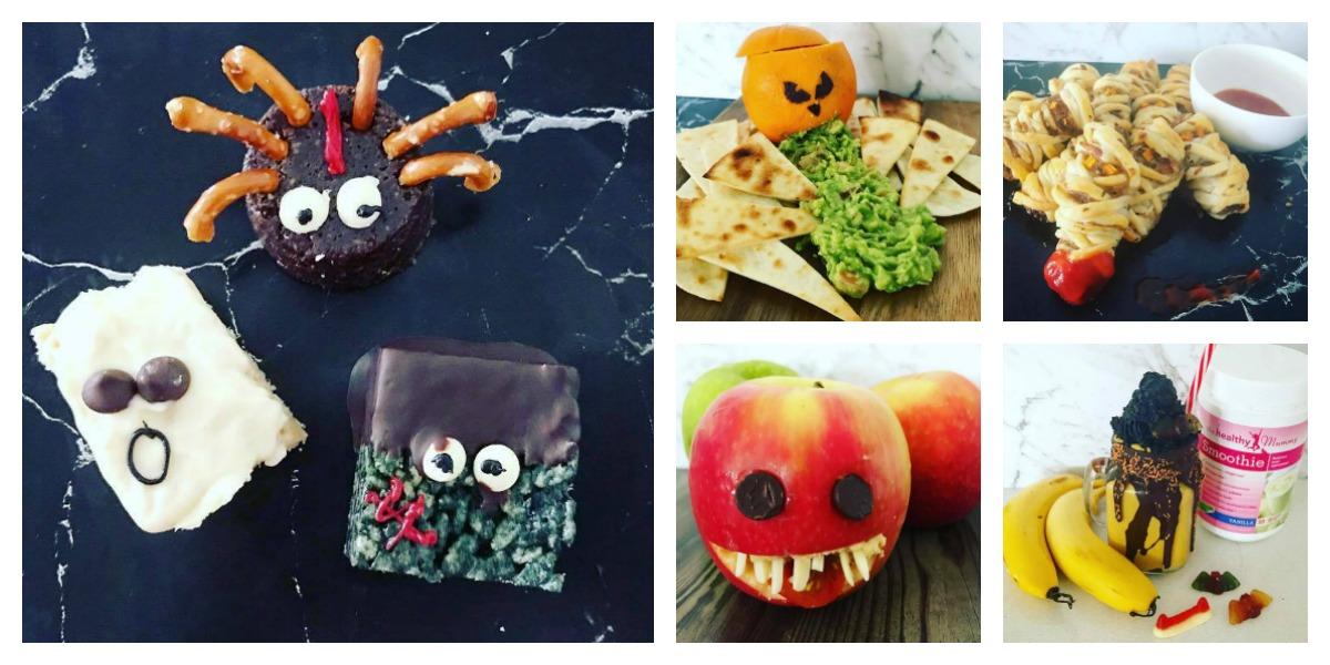 sophie barrett healthy halloween treats