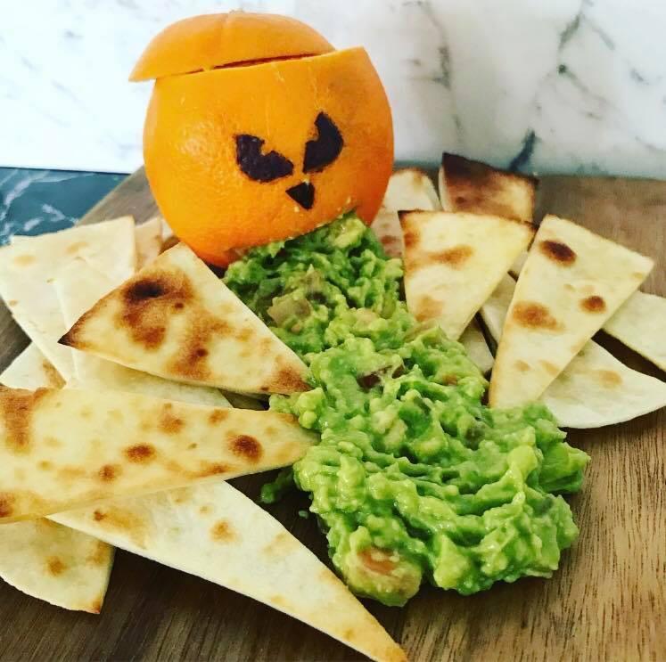 Sophie Barrett Halloween treats guacamole vomit