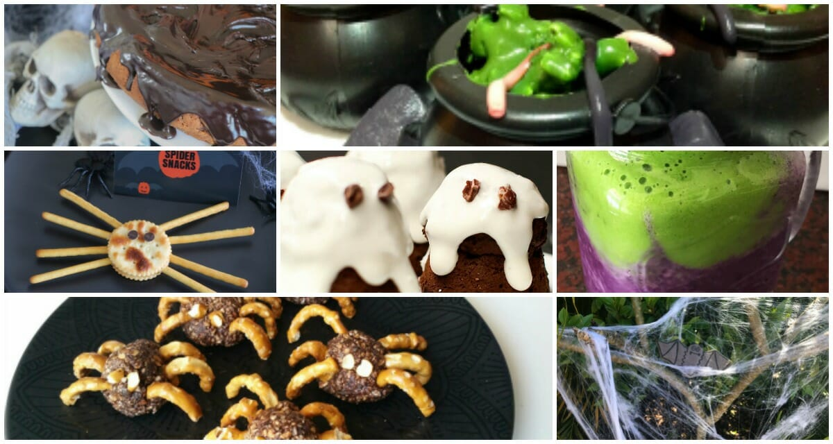 healthy mummy halloween treats