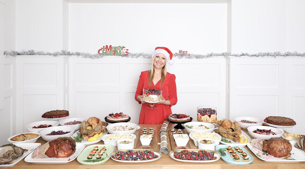 Rhian Allen Christmas full christmas dinner