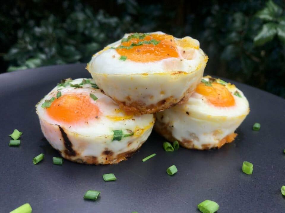 Sweet Potato and Egg Brekki Bites
