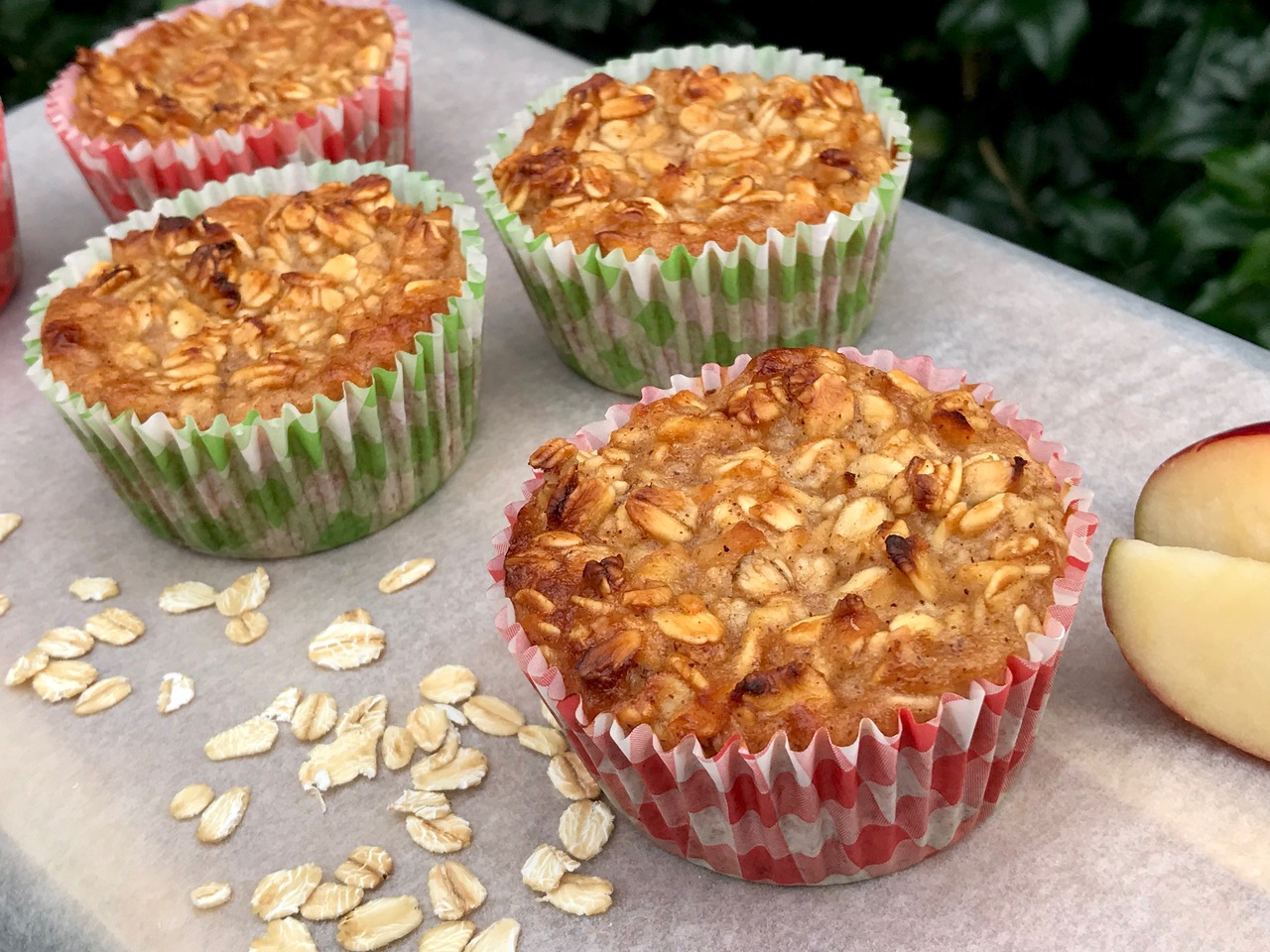 Quick and Easy Healthy Apple And Honey Muffins