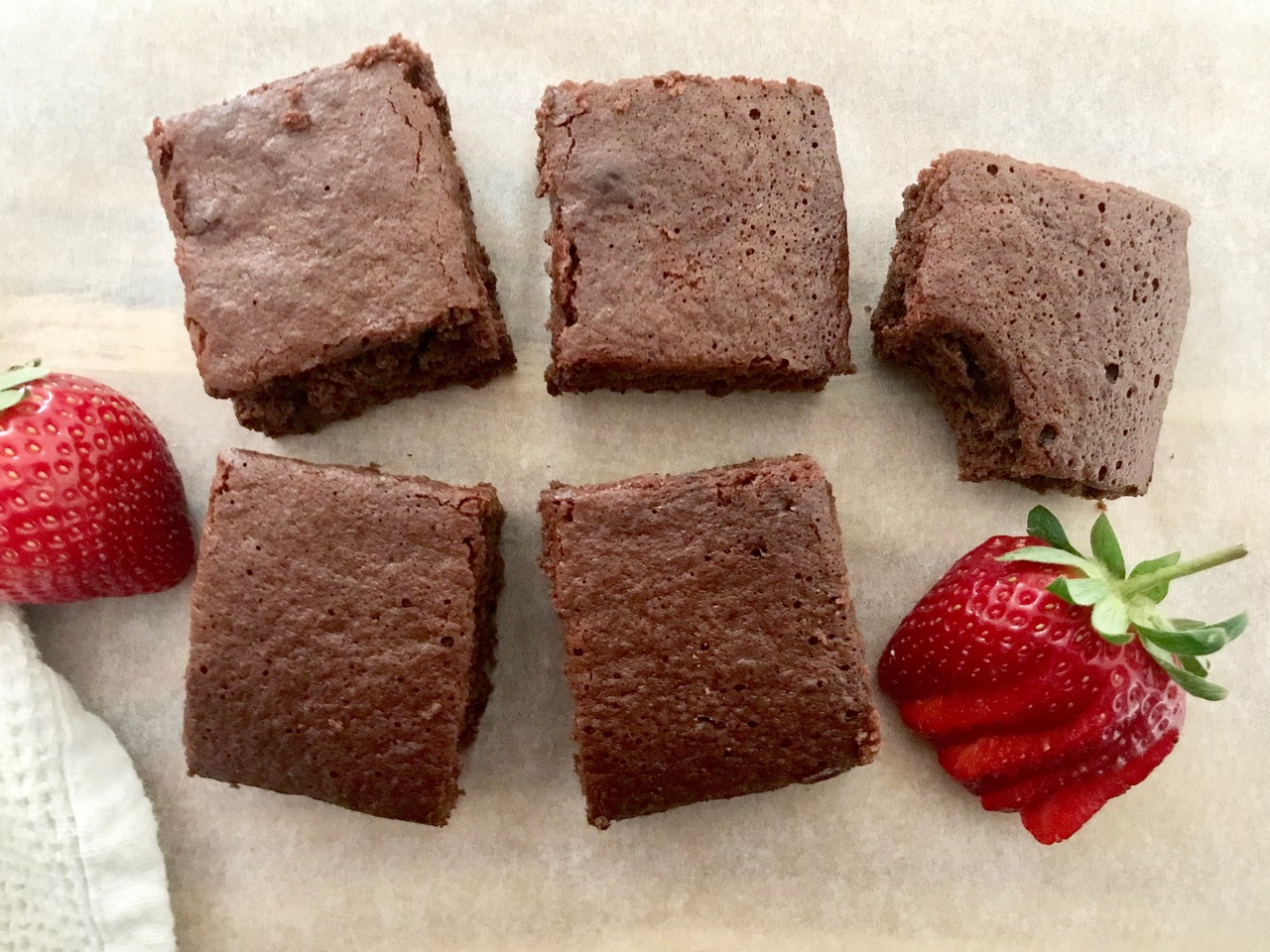Super Quick and Easy Chocolate Brownies