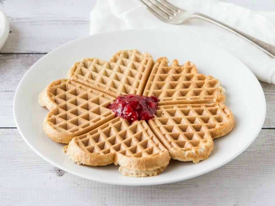 Vanilla and Cinnamon Waffles