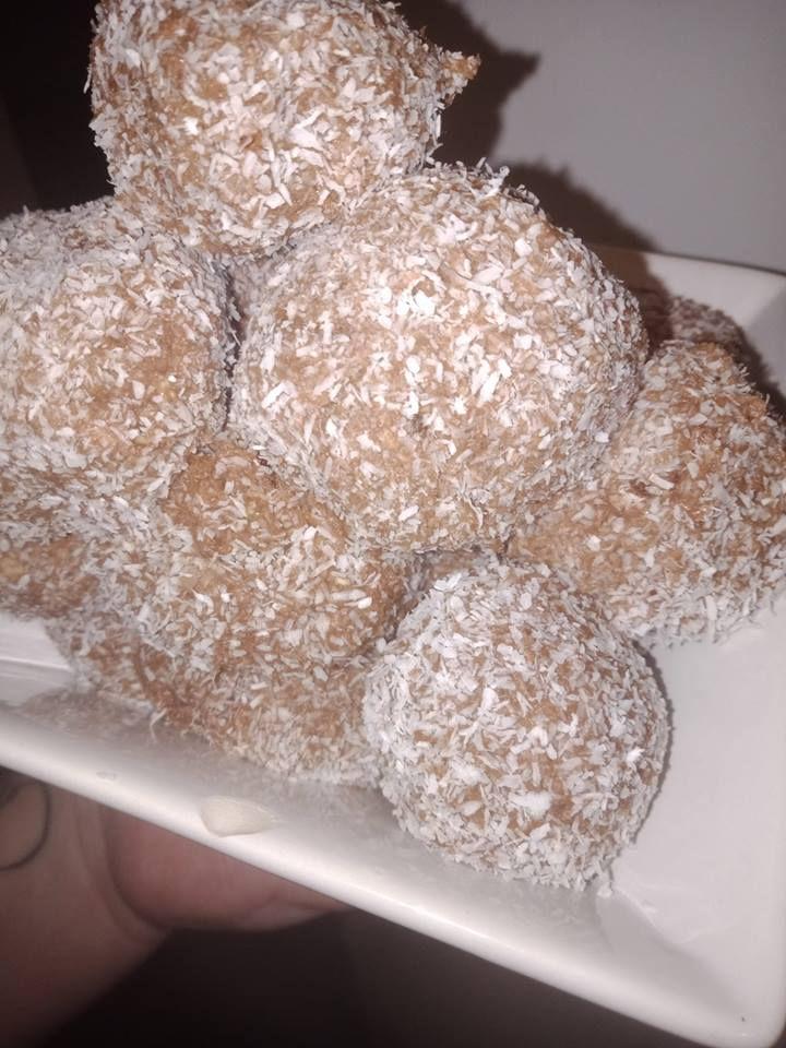 peanut butter crumble balls