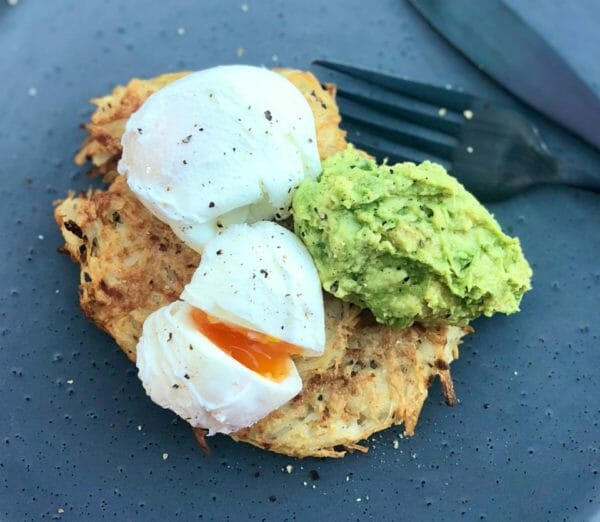 Crispy Potato Hash with Smashed Avo Recipe