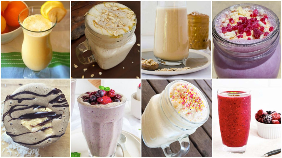 collage smoothies 5 ingredients less