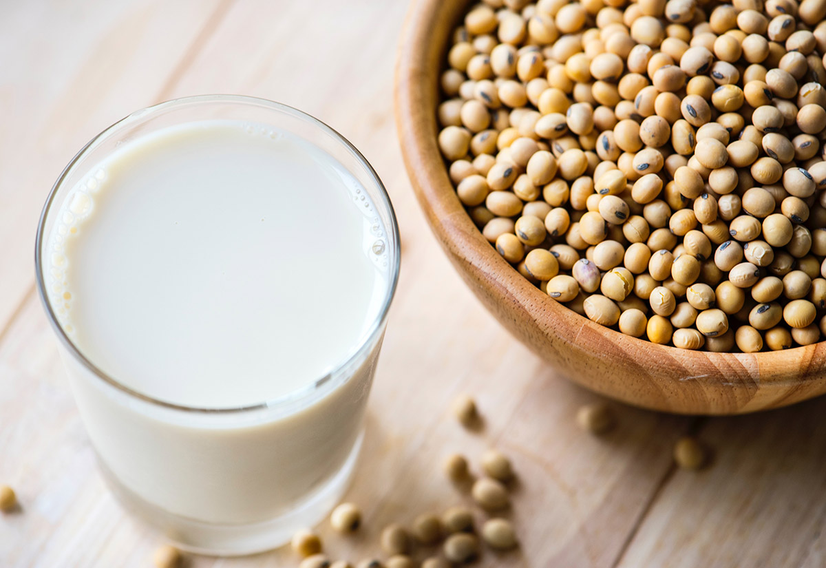 soy beans-beverage-bowl over 45 health