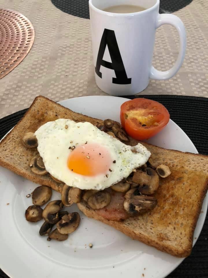 Amanda Tracey breakfast