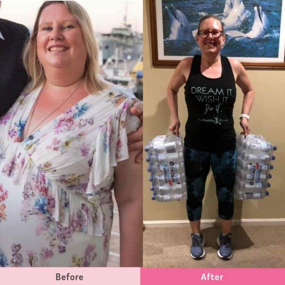 nikki myles jan 2019 30 kgs