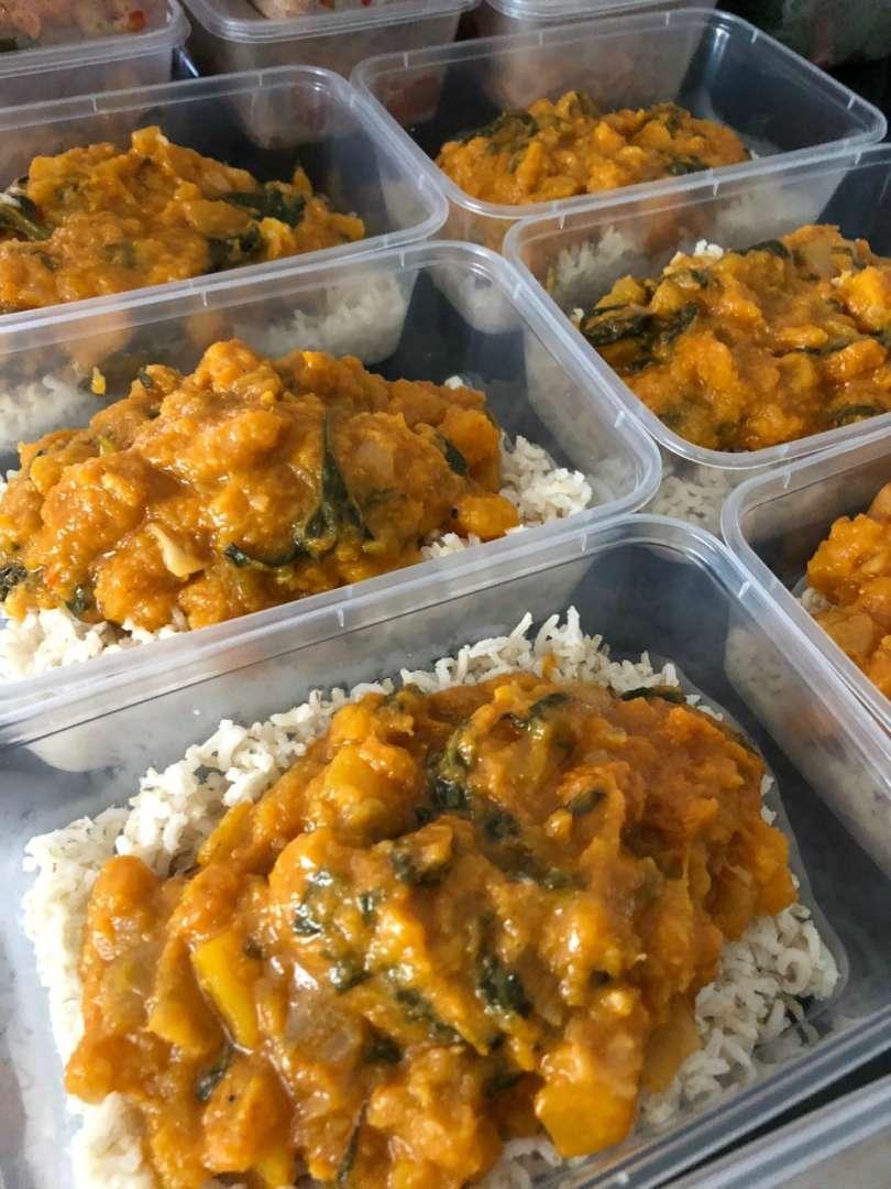 Healthy-Mummy-Vegan-meal-Pumpkin-Spinach-Curry