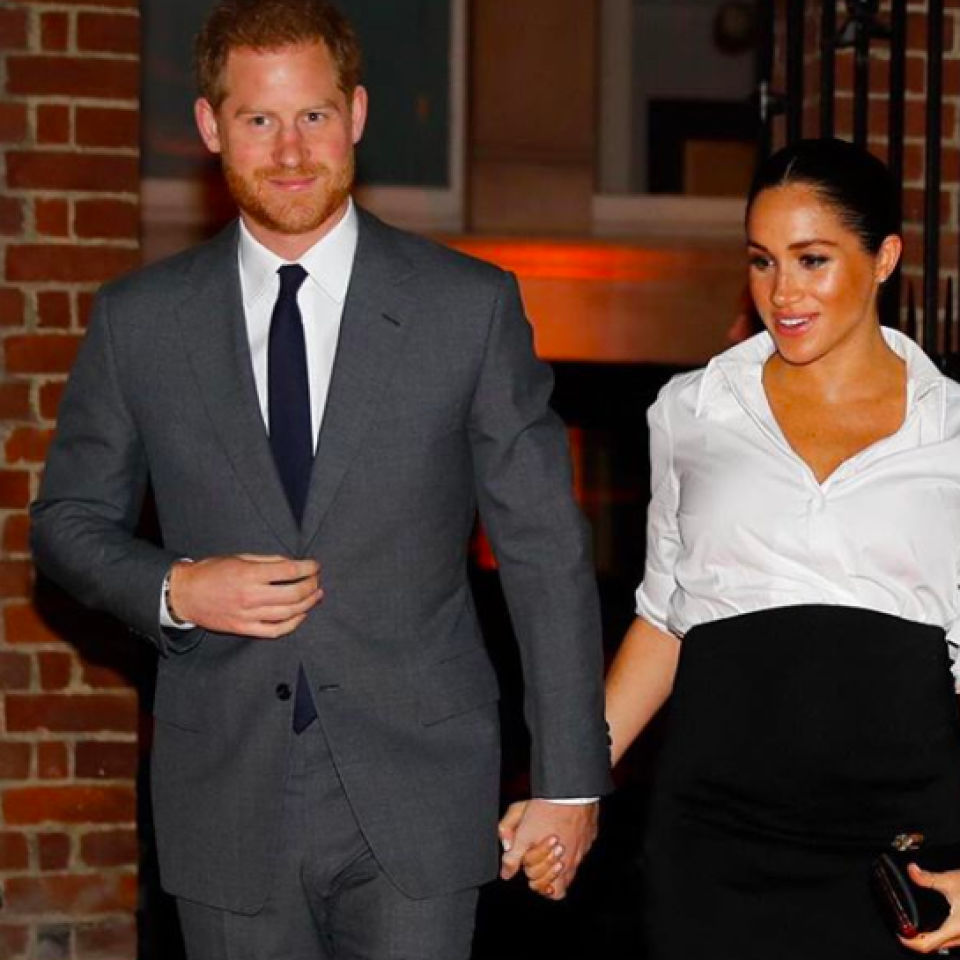 Prince Harry's first 'dad joke' about Meghan Markle's pregnancy: 'Is it mine?'