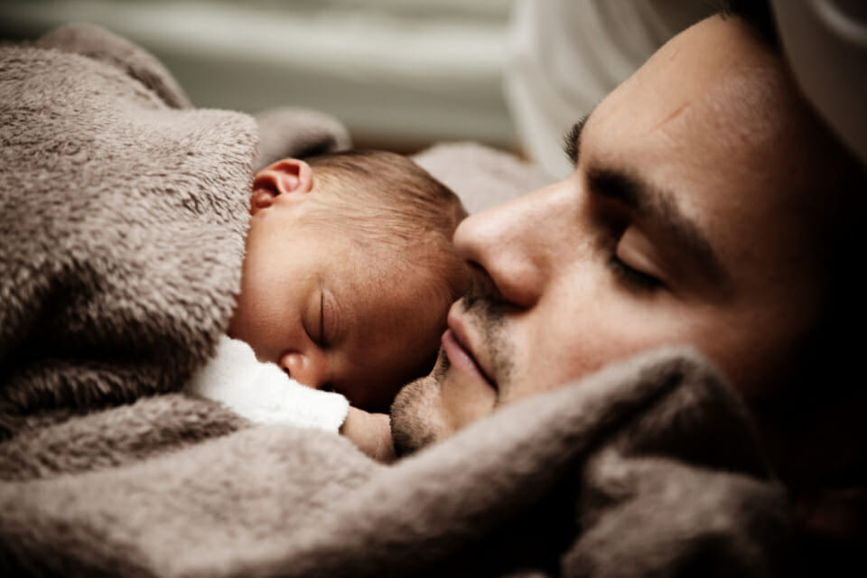 MORE than a third of DADS feel depressed after the birth of their first child, study finds