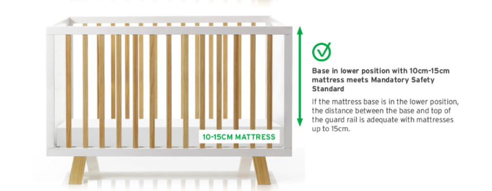 PRODUCT RECALL: Adairs cots recalled following fears a child could fall out and cause injury