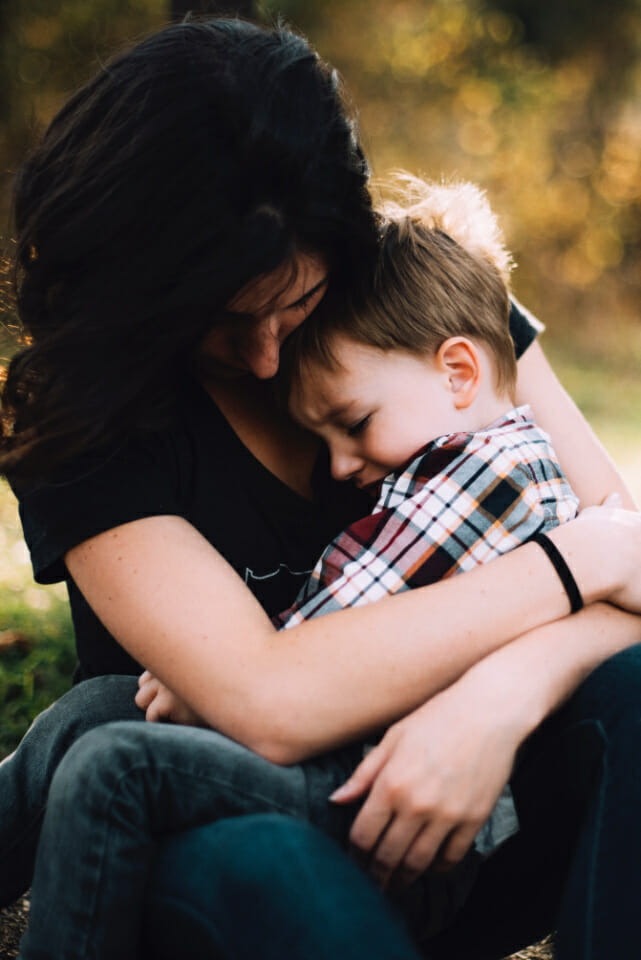 Mummy's boys and daddy's girls are less likely to have mental health issues, study finds