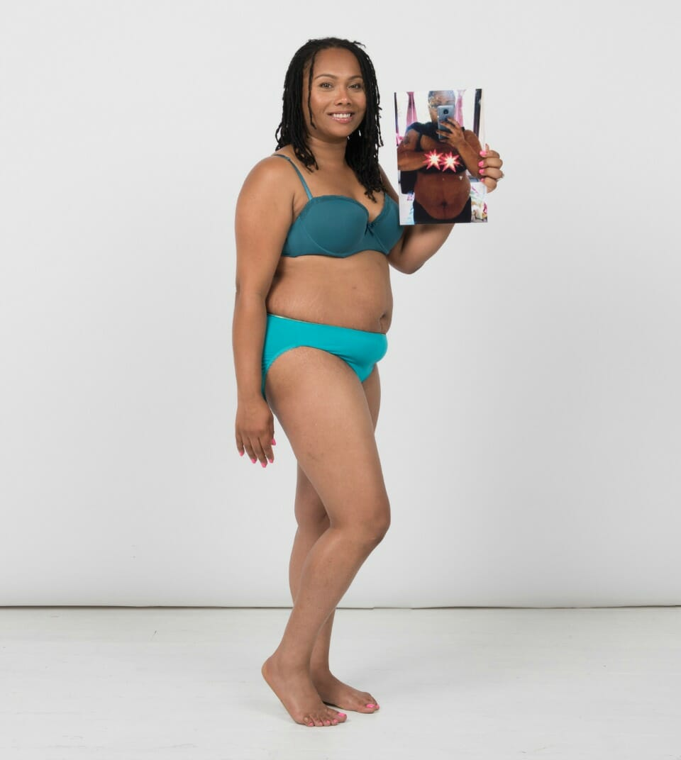Nasarha-Simpson-15.8kg-weight-loss-The-Healthy-Mummy-body-confidence-shoot-London
