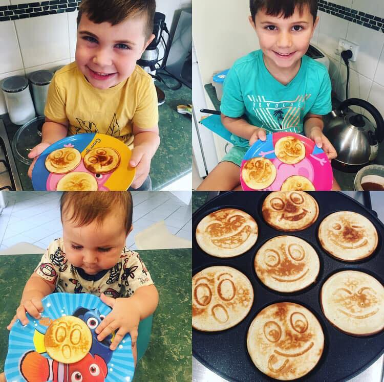 Leah-Romity-kids-Healthy-Mummy-gingerbread-pancakes