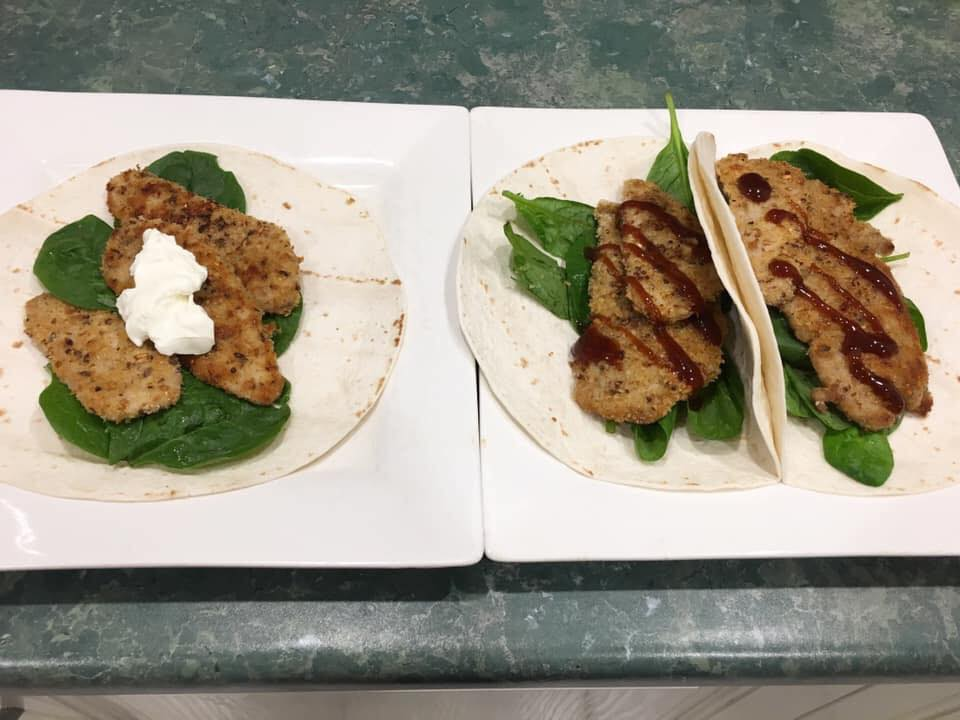 Leah-Romity-Healthy-Mummy-Pork-Schnitzel-wraps