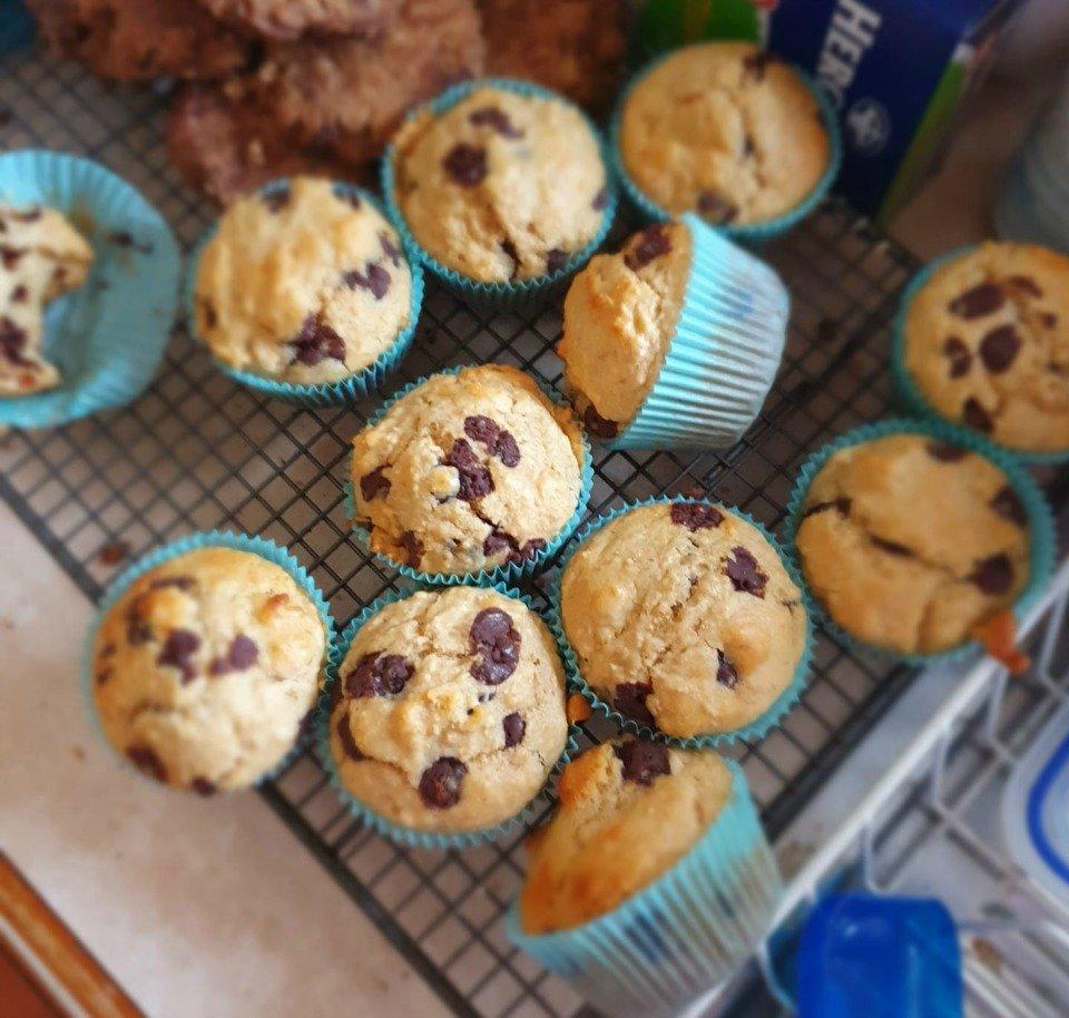 Healthy-Chocolate-Chip-Muffins-Rachel-Delaney-2