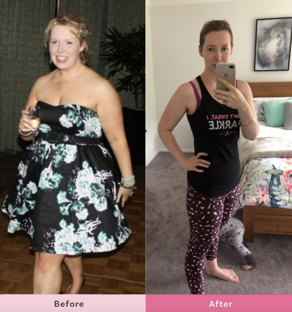 Sophie-Roberts-weight-loss-before-after