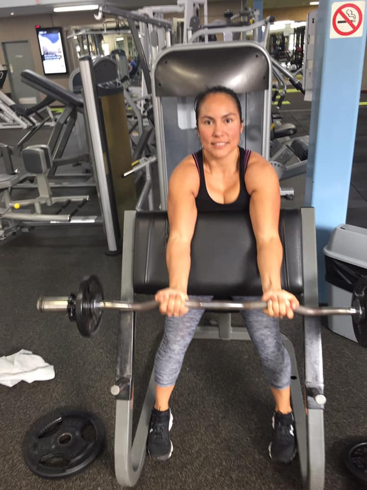 Silvana-Gutierrez-working-out-at-gym