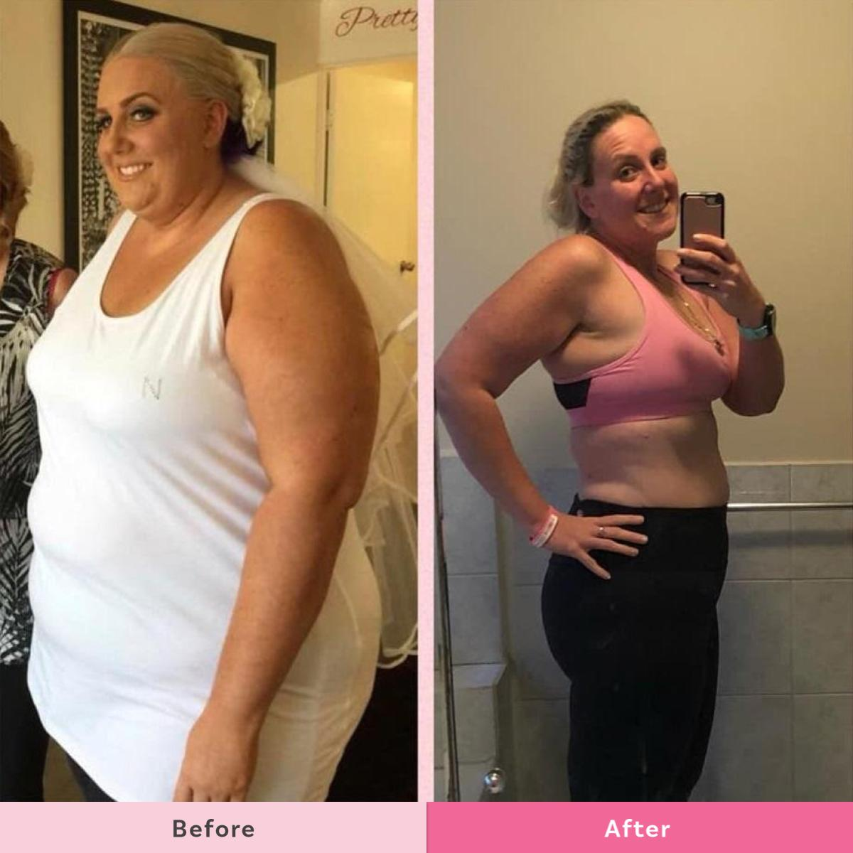 Mums share their stunning weight loss success