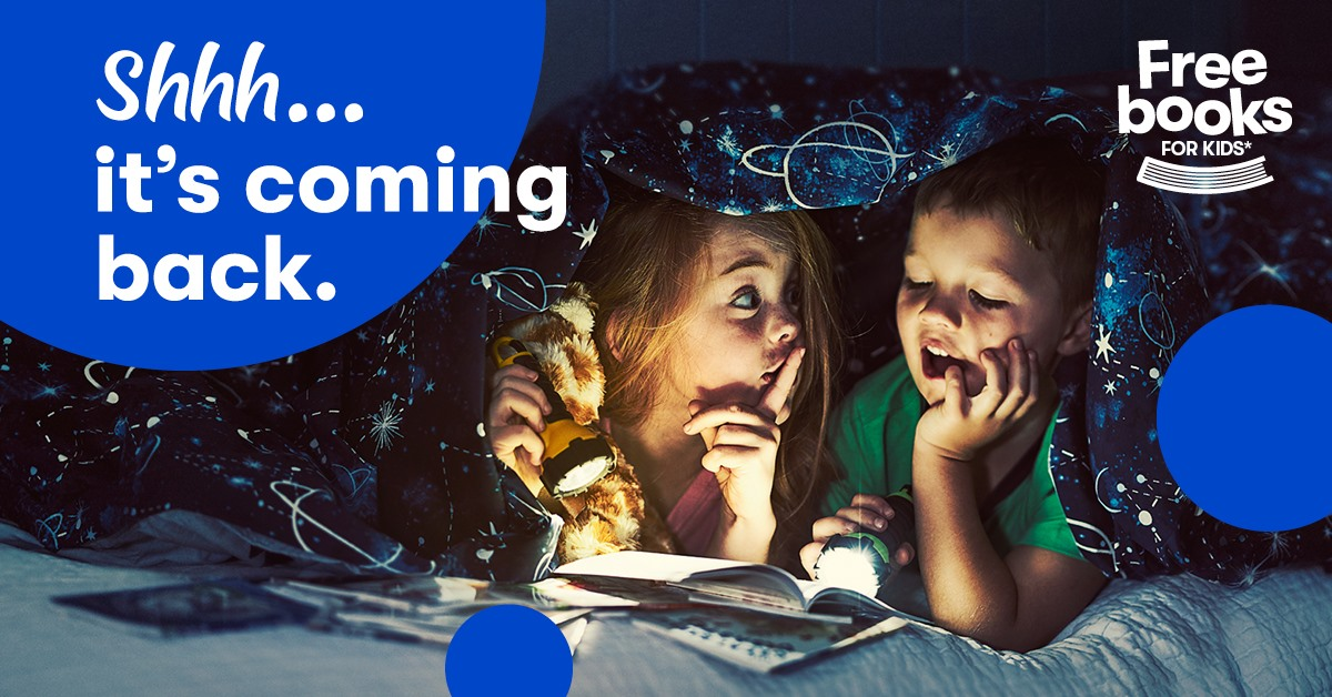 BIG W 'free books for kids' promotion is back!