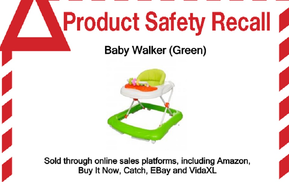 RECALL issued for popular baby walker