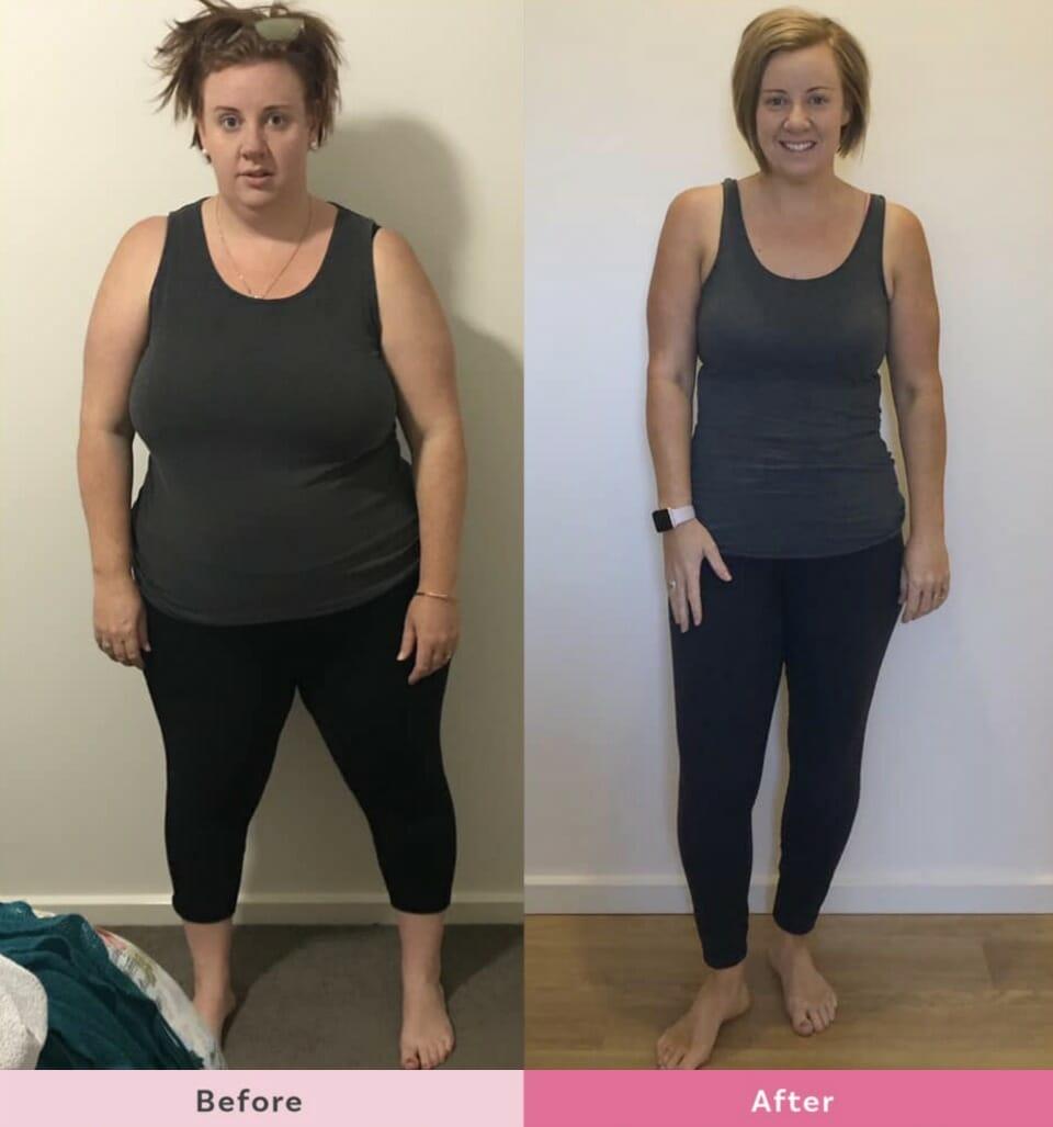 Hannah-Pech-34kg-Healthy-Mummy-weight-loss-front