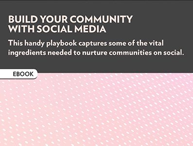Build your community with social media