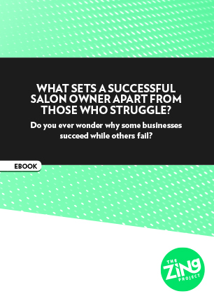 What sets a successful salon owner apart from those who struggle?