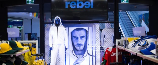 The evolution of Rebel Sport