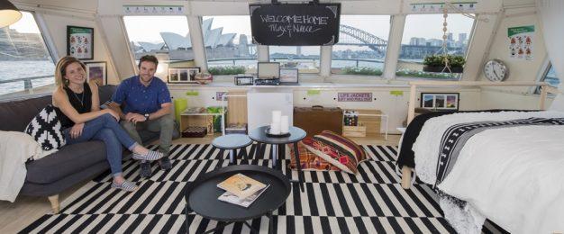Ikea sets up home on Sydney Harbour