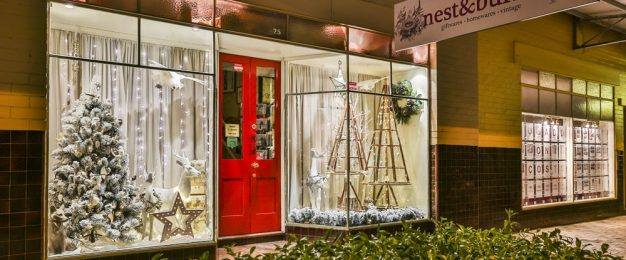 Festive merchandising tips from retailer Nest & Burrow