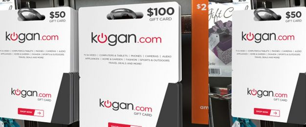 Kogan's online-only gift cards launch in stores