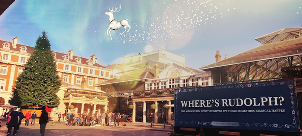 Covent Garden augmented reality