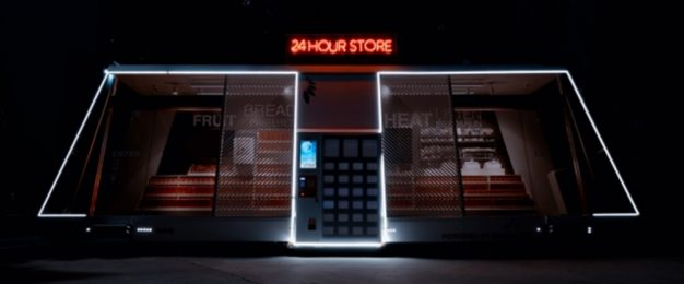 This autonomous mobile store drives itself to customers