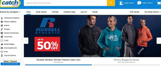 Online retailer Catch moves into bricks-and-mortar