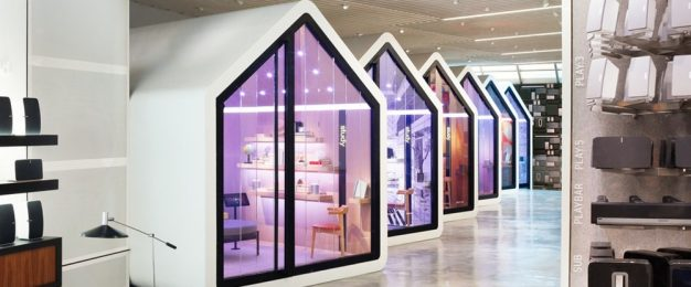 The retailers creating 'experience centres', not stores