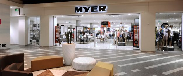 Myer launches Aussie retail first