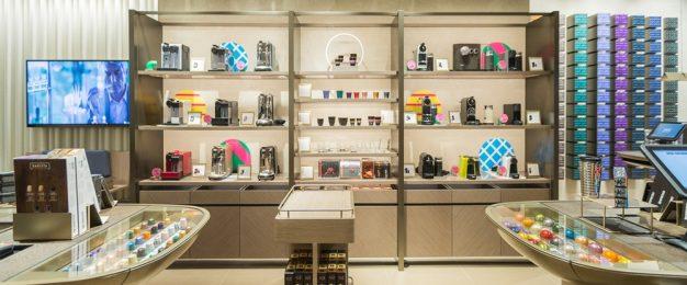Nespresso debuts immersive retail experience
