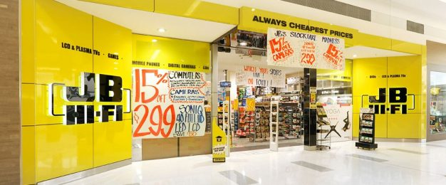 JB Hi-Fi enters ranks of world's biggest retailers