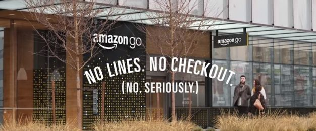 Amazon Go checkout-free supermarket opens to the public