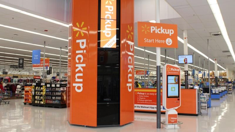 Walmart has an advanced supply chain