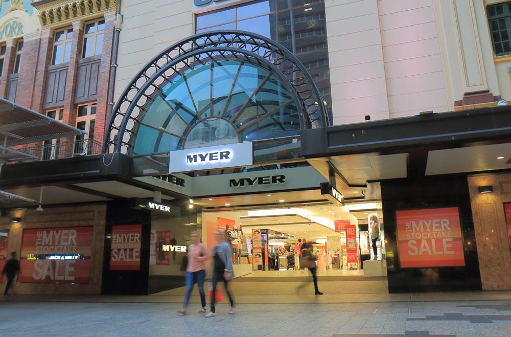 Myer Queen St mall Brisbane