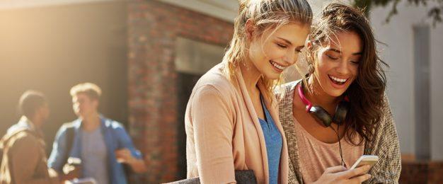 Social media drives student spending