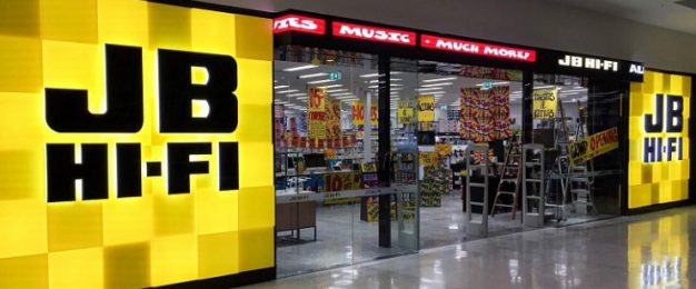 JB Hi-Fi group sales up 21%