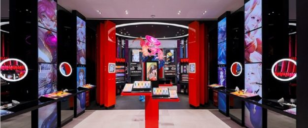 A look at MAC's first interactive concept store for Gen Z