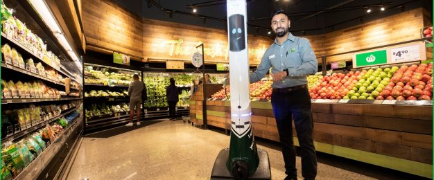 Woolworths roll-out 'safety-robot'