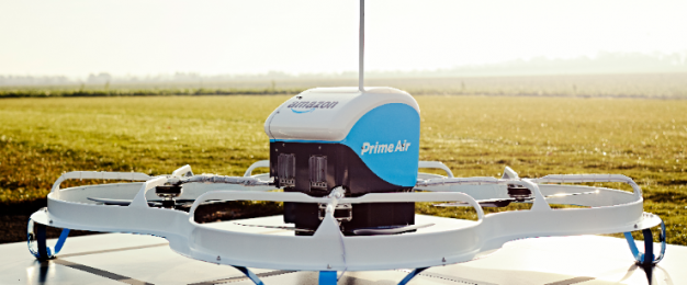 Amazon unveils 30-minute drone deliveries